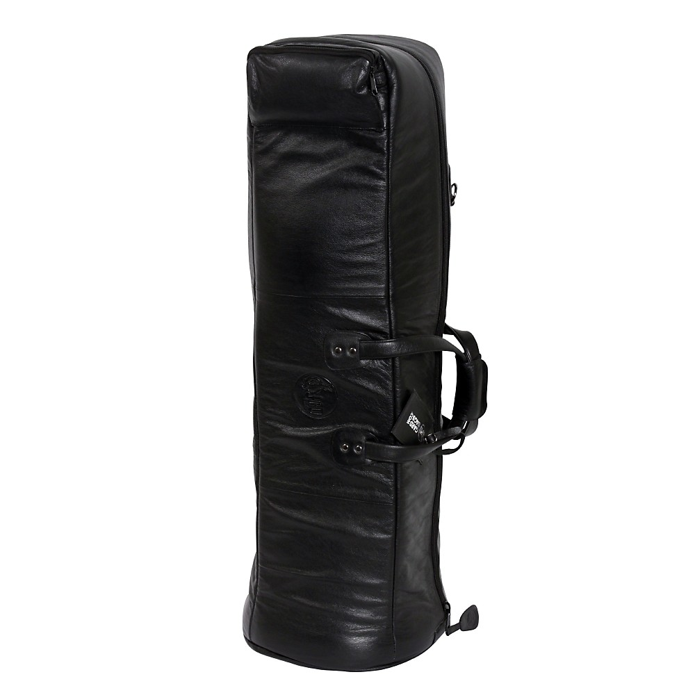 Gard Mid-Suspension G Series Bass Trombone Gig Bag 26-MSK Black Synthetic w  Leather Trim by Gard