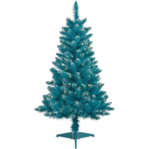 White Artificial Christmas Trees Walmart