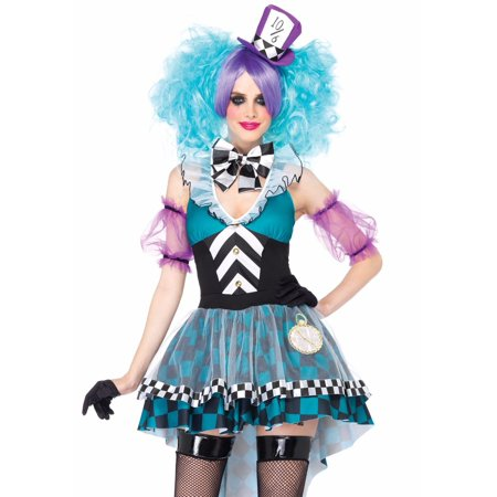 Leg Avenue Manic Mad Hatter Adult Womens Costume - Mad Hatter Woman Costume