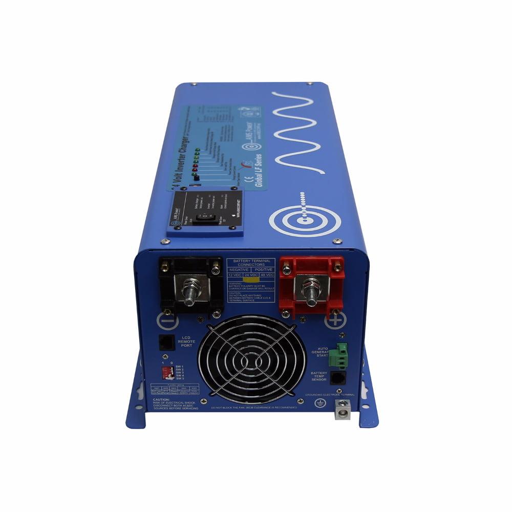 AIMS 3000 Watt 24 Volt Pure Sine Inverter Charger
