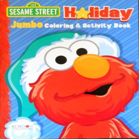Sesame Street Holiday Elmo Coloring and Activity - Sesame Street Coloring Books
