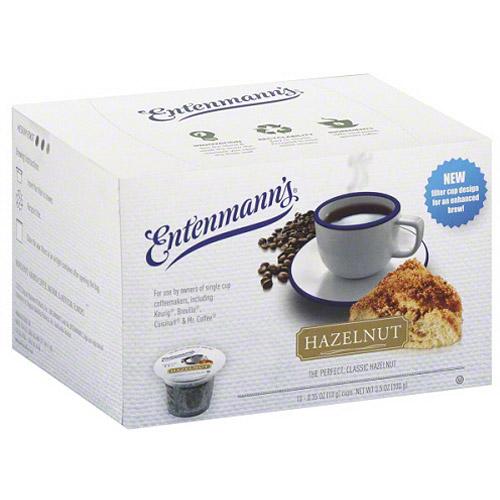Entenmann's Hazelnut Coffee, 3.5 oz, (Pack of 4)