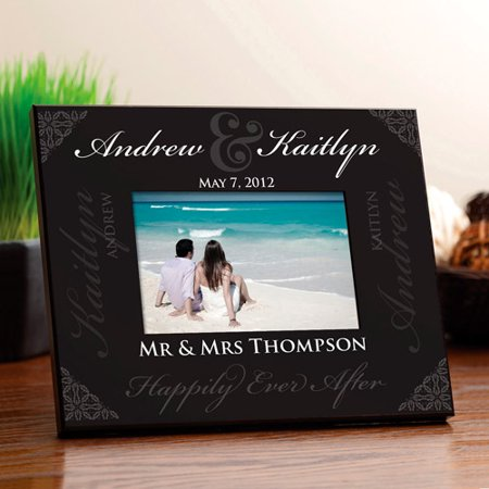 Personalized Our Wedding Frame