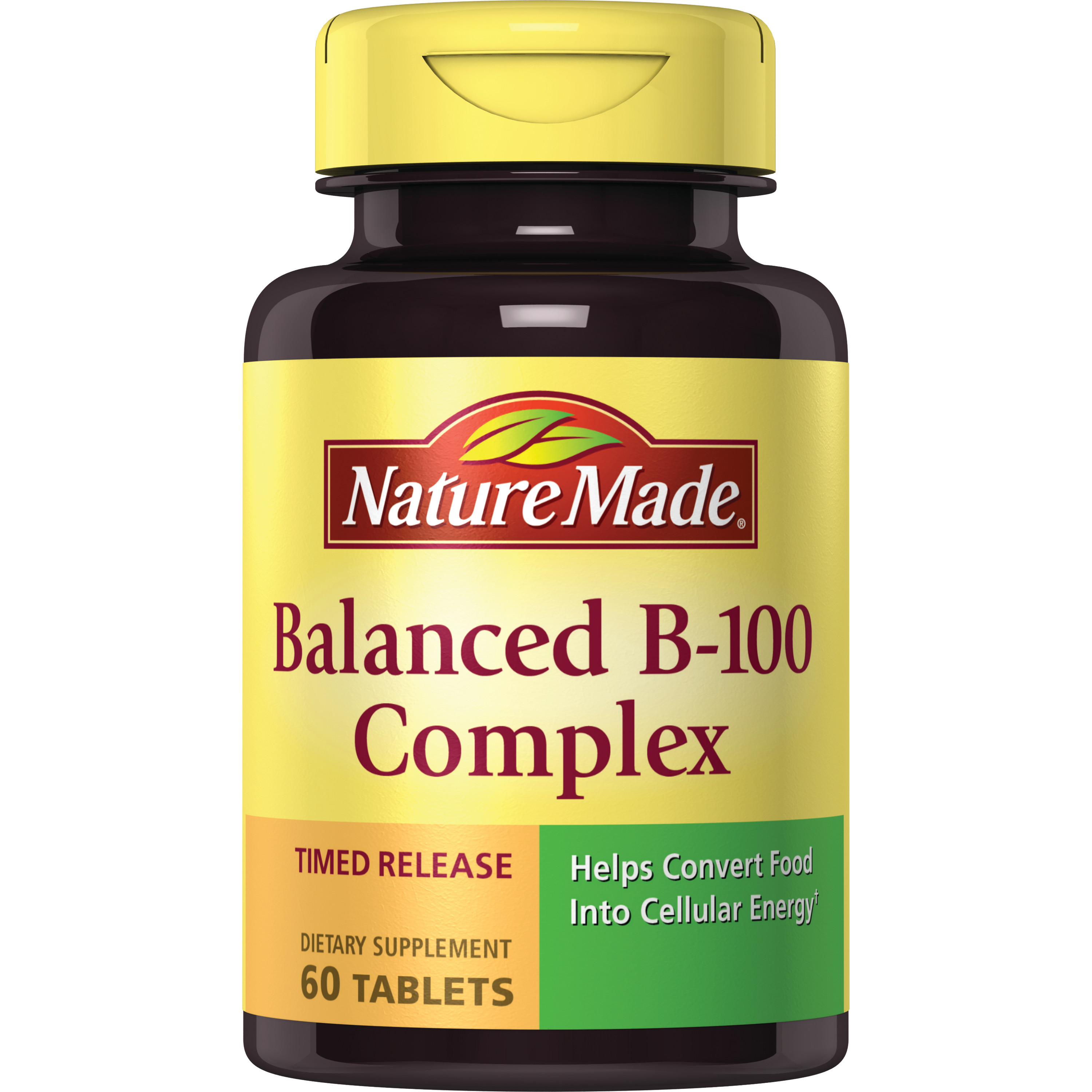 Nature Made Balanced B-100 Timed Release Tablets