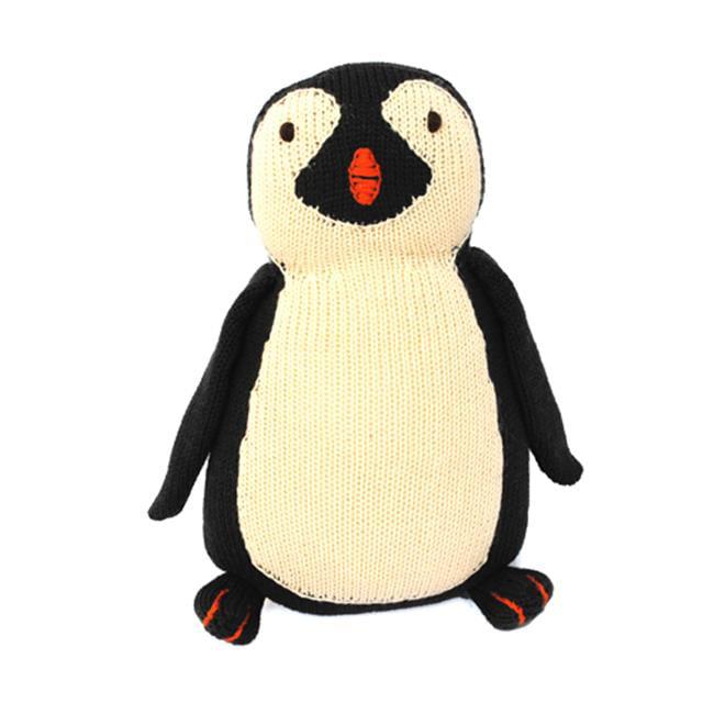Loralin Design PENG Knit Penguin  10 inch Toy