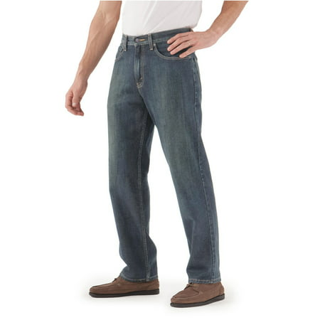 550 Dark Blue Jeans (Signature by Levi Strauss & Co. Men's Relaxed Fit)