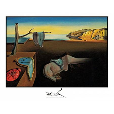 Persistence of Memory Poster Print by Salvador Dali (28 x (Dali Memory)