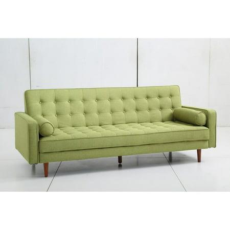 Aeon Furniture Fairfax Mid Century Modern Convertible Sofa