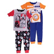 star wars boys 2 pack first order bb 8 sleepwear pajama sets - Star Wars Christmas Pajamas