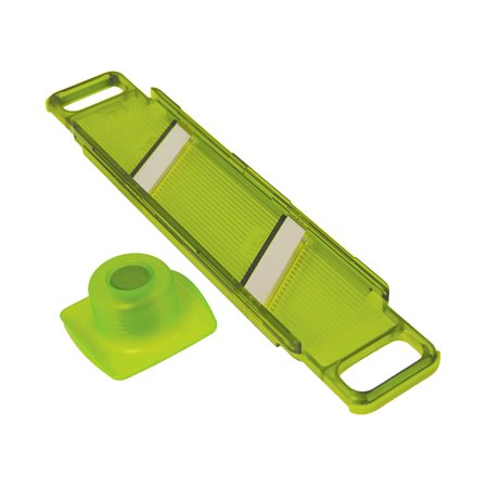 Kuhn Rikon Slim Mandoline Thick & Thin Slicer, Green