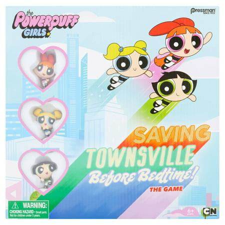 Pressman Cartoon Network The Powerpuff Girls Board Game 6  Years