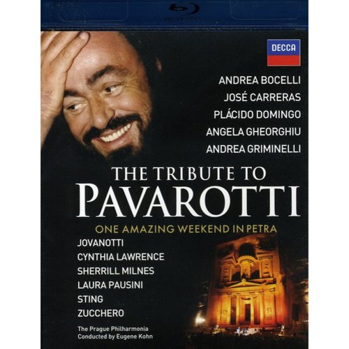 The Tribute To Pavarotti (Blu-ray) (Widescreen)