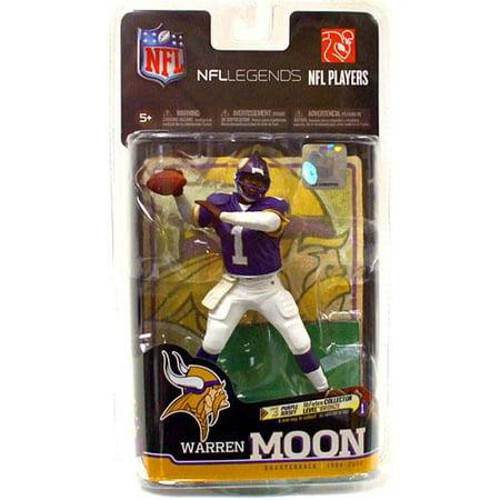 McFarlane NFL Sports Picks Legends Series 6 Warren Moon Action Figure [Purple Jersey]