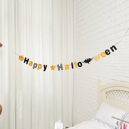 Mosunx 1 Set Halloween Hanging Holiday Party Decoration Ornaments DIY Pull The Flag - Hgtv Diy Halloween