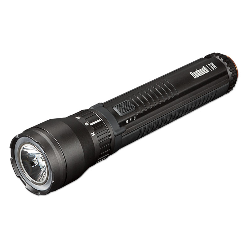 Bushnell  6AA, 687 Lumen RUBICON Flashlight Grey