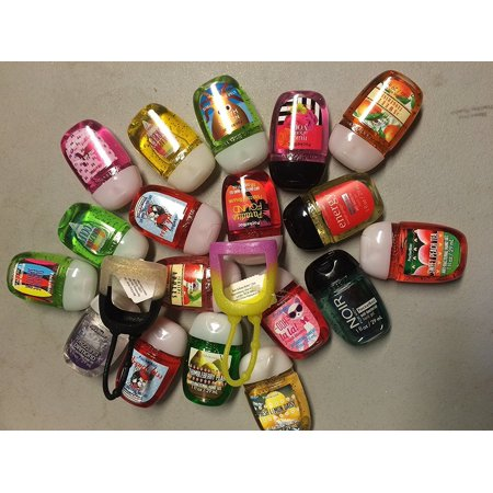 Bath & Body Works Pocketbac Set of (20) Anti-Bacterial Hand Gels, (2) Holders, Scent May Vary, Germ-fighting formula kills up to 99.9% of germs.., By Bath Body
