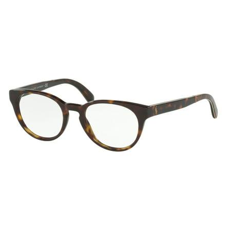 Eyeglasses Polo RALPH LAUREN PH2164 5003 49-19 Shiny Dark Havana tG3J7sYpx