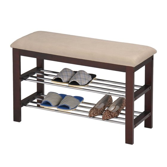 Inroom designs shoe rack bedroom hallway bench In room designs