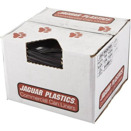 Jaguar Plastics Repro Low-Density 56 Gallon Can Liners, 100 count