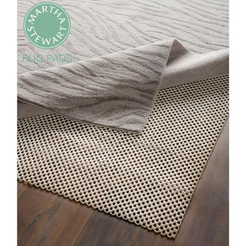 Martha Stewart Non-slip Hard Floor Rubber Rug Pad (3' x 5') (Set of 2) by Overstock