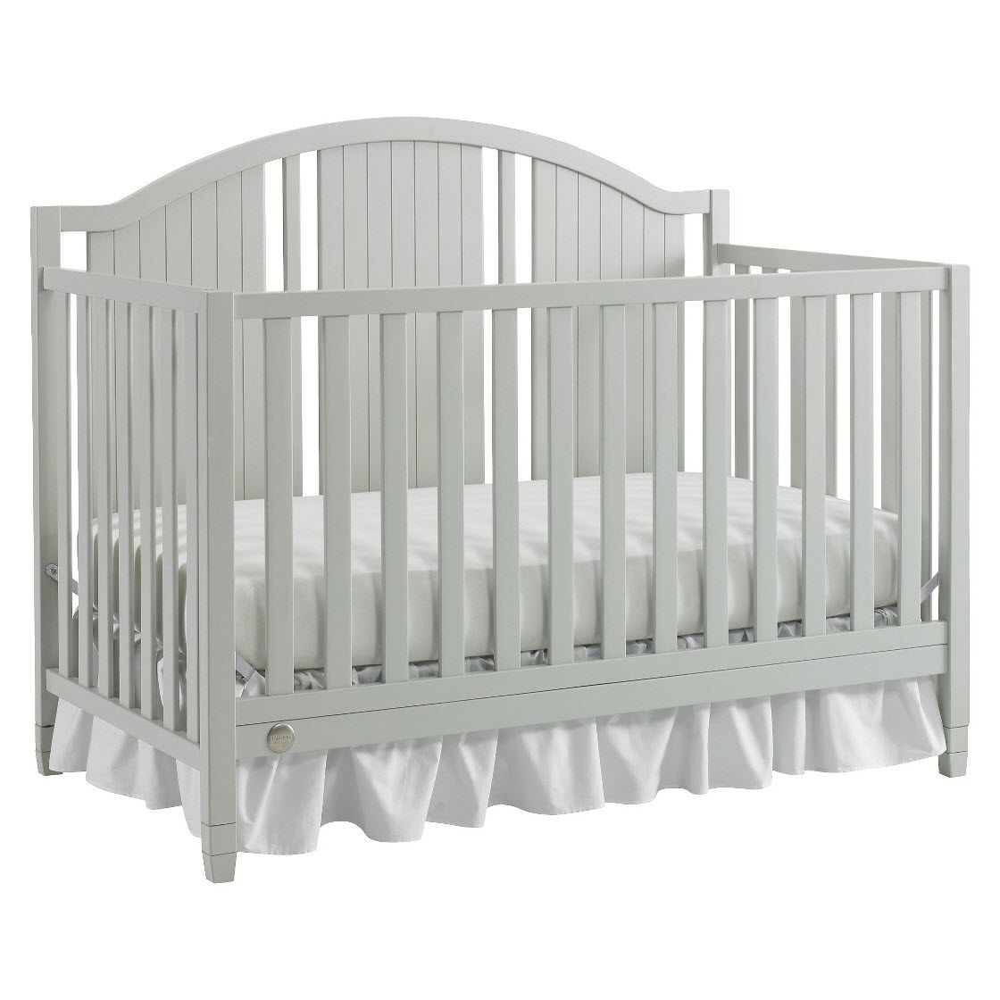 Fisher-Price Caitlin 4-in-1 Convertible Crib Misty Gray