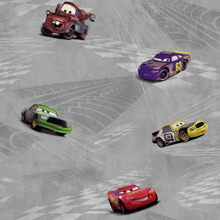 Walt Disney Kids II Cars Racing Wallpaper