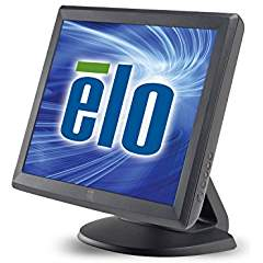 Elo 1515L Desktop Touchscreen Monitor - 15-Inch - Surface Acoustic Wave for PC & POS - 1024 x 768 - 4:3 - Dark Gray E700813