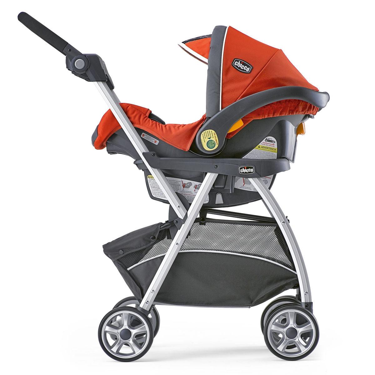 Chicco KeyFit 30 Infant Caddy Stroller Frame, Car Seat, and Base ...