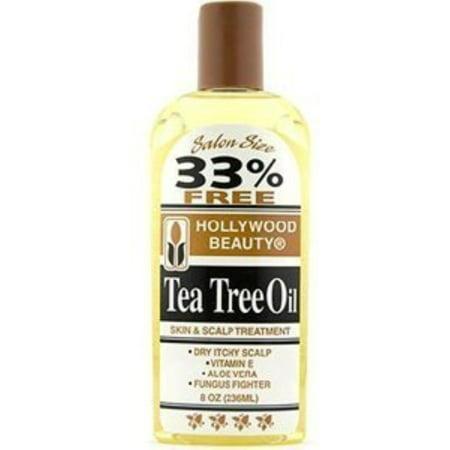 Hollywood Beauty Tea Tree Oil Skin & Scalp Treatment, 8 (Best Treatment For Severe Scalp Psoriasis)