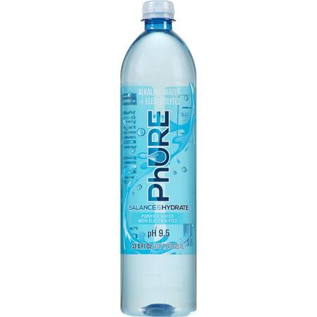 Phure Alkaline Water, 33.8 Fl Oz, 18 Count