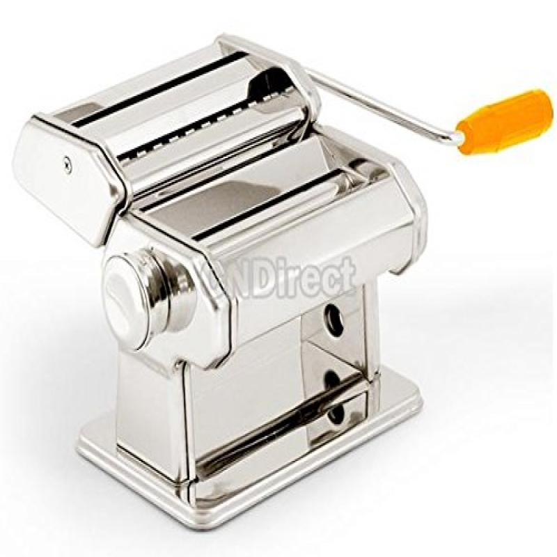 "Pasta Maker Roller Machine 7"" Dough Making Fresh Noodle M..."