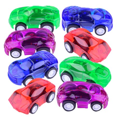Mini Pull Back And Let Go Plastic CarToy Fast Racing Car Dazzling Toys For