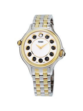 8c5e1405c9c Product Image Fendi Crazy Carats White Dial Stainless Steel Ladies Watch  F107134000T06