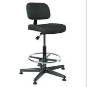 "BEVCO Task Chair,Fabric,Black,23-33"" Seat Ht 5500 BLACK FABRIC"