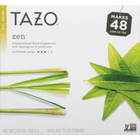 Tazo Zen Tea Filterbags 48 ct Box