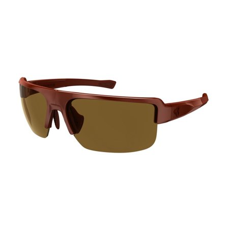 Ryders Eyewear Seventh Polarized Sunglasses - Color (MATTE DARK RED / BROWN LENS AR) ()