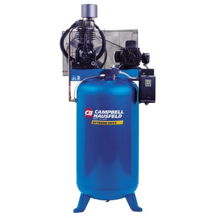 Campbell hausfeld tf211201aj 7 5 hp two stage 80 gallon for 7 5 hp air compressor motor