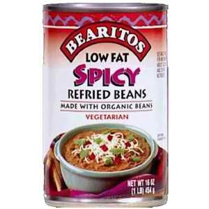Hain Celestial Group Bearitos  Refried Beans, 16 oz