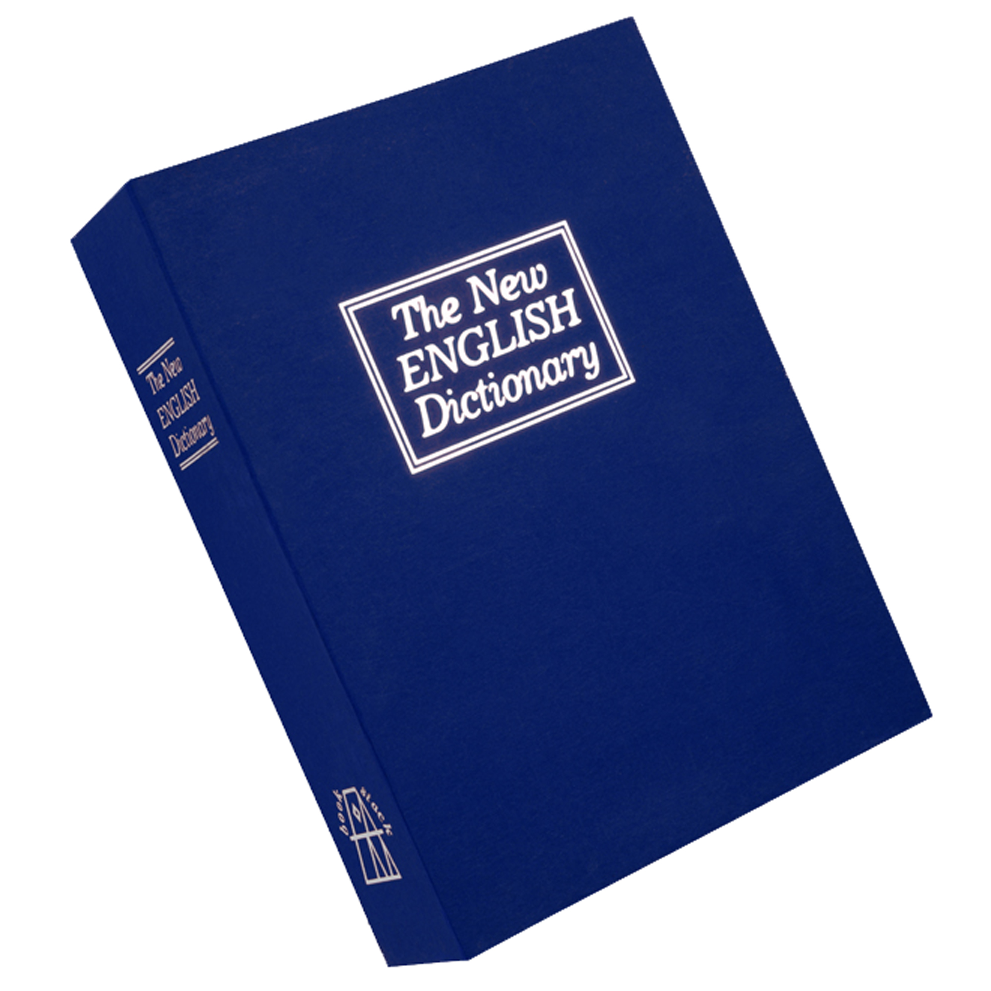 "Bulldog Deluxe BLUE Diversion Book Vault - Internal Dimensions: 9.30"" Length x 6.70"" Width x 2"" Height - External Dimensions: 10.6"" Length x 7.7"" Width x 2.5"" Height - Steel - Blue - Retail"