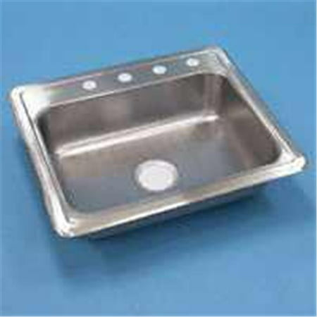 Sterling Plumbing 11404 4 Na Kitchen Sink Stainless Steel Single 6