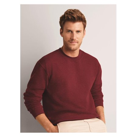 Garnet Mens Sweatshirt - Gildan Fleece Heavy Blend Crewneck Sweatshirt