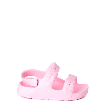 Wonder Nation EVA Footbed Back-Strap Buckle Sandal (Infant Girls)