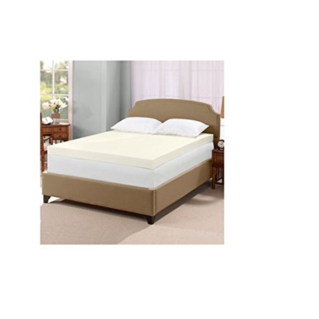 Serta Ultimate 4-inch Visco Memory Foam Mattress Topper ...