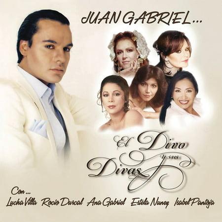 Juan Gabriel - El Divo Y Sus Divas (CD)