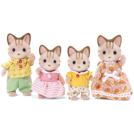 - Calico Critters Sandy Cat Family