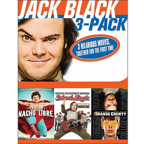 Jack Black Collection: Nacho Libre / School Of Rock / Orange County (Widescreen)