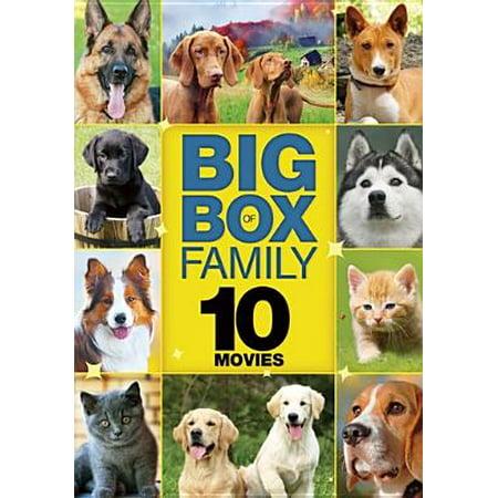10-Movie Big Box Family Volume 3 (DVD) (Vegas Movie Studio Platinum 10)