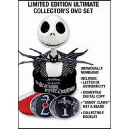 Tim Burton's The Nightmare Before Christmas: Collector's Edition - Ultimate Collector's DVD Set + Digital - Tim Burton Style Movies