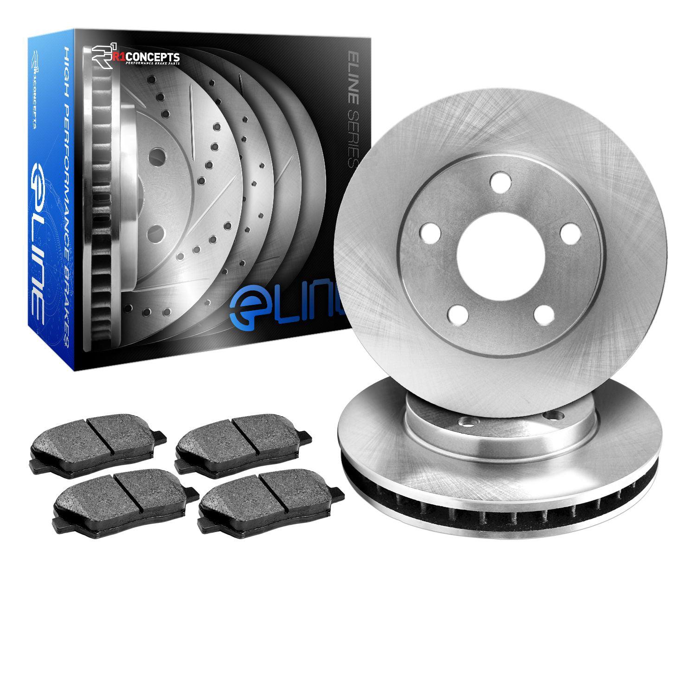 COMPLETE KIT eLine Replacement Brake Rotors /& Semi-Met Brake Pads