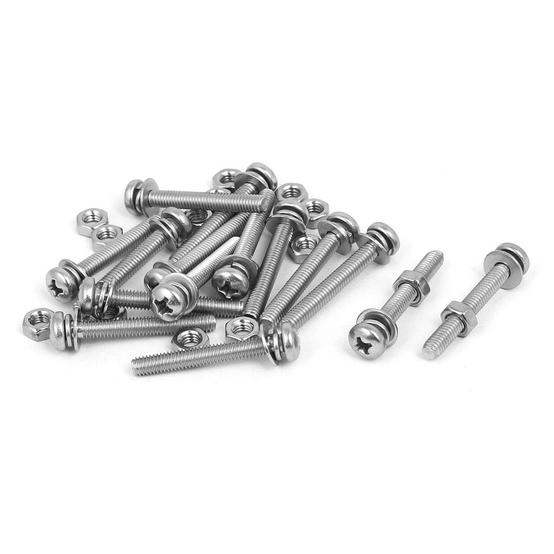 8 x 2-1//2 Piece-100 Hard-to-Find Fastener 014973208127 White Phillips Pan Sheet Metal Screws